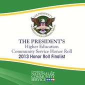 Widener Named Finalist for Higher Education Community Service Honor Roll Presidential Award